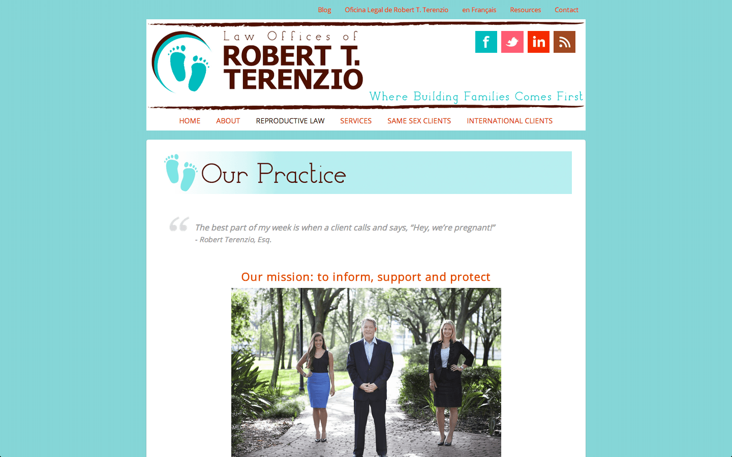 Robert Terenzio Our Practice