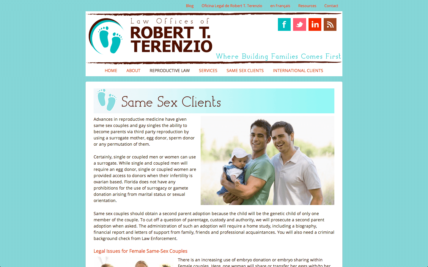 Robert Terenzio Same Sex