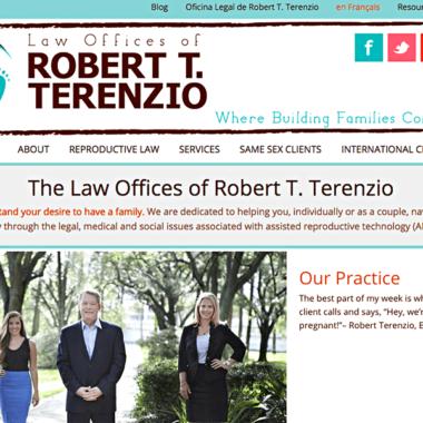Client: Robert Terenzio, Esq.