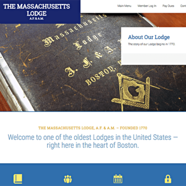 Client: The Massachusetts Lodge
